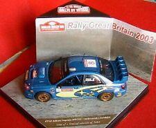 SUBARU IMPREZA WRC03 #8 RALLYE GREAT BRITAIN 2003 VITESSE 43111 1/43 MAKINEN