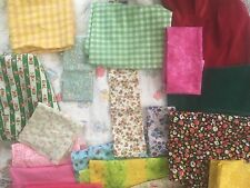 Assortd Fabric Scraps for Doll Clothes & Accessories UPick Girl Boy Fashion Baby