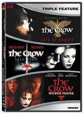 DVD The Crow Collection 3 Part Dark Fantasy Action Horror Film Movie For Adult