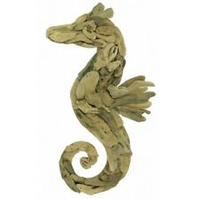 Driftwood Seahorse wall art Large made from found pieces of wood from the shore