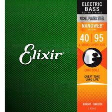 Elixir Nanoweb Cuerdas graves 4 Escala de gas natural licuado-Super LGT (. 040 - .095)