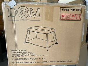 Dream on me Travel Light Play Yard. Brand New In The Box, Fast Shipping.
