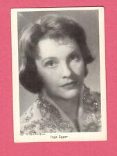 Inge Egger Vintage 1950s Movie Film Gum Card from Germany