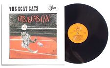 THE SCAT CATS: Cats As Cats Can LP FEEL THE JAZZ RECORDS Netherlands 1988 NM+