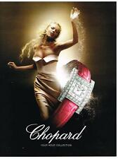 PUBLICITE ADVERTISING    2006   CHOPARD  collection montres