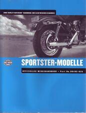 HARLEY Handbuch elektrische Diagnose 2002 XL Sportster DEUTSCH Anleitung Buch