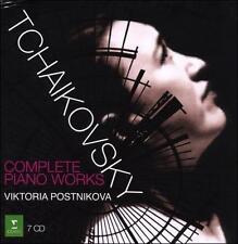 Tchaikovsky: Complete Piano Works (CD, Apr-2008, 7 Discs, Erato (USA)) - Mint!