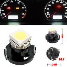 1 x T4.7 Neo Wedge White Car Instrument Cluster Panel Lamps Gauge LED Bulb NEW