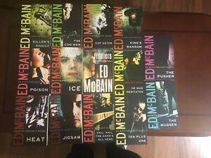 Ed Mcbain 87th Precinct 14 Paperbacks lot Thomas and Mercer Edition.