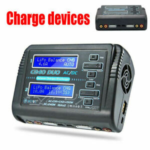 HTRC C240 DUO AC 150W DC 240W Dual Channel 10A RC Balance Lipo Battery Charger A