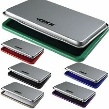 LACO Metal Stamp Pad Inked or Un-Inked 5 Colurs Office Desk 2 Sizes