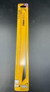 "NEW DeWALT 5 Pieces Reciprocating Saw Blades DW4804 12"" 6 TPI Wood With Nails"