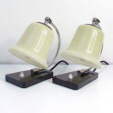 Vintage German Art Deco BAUHAUS Table Lamps 1930s, Set of 2