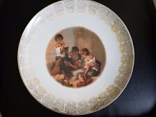 Hutschenreuther Plate Germany Porcelain THE DICE GAME