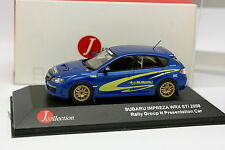 J Collection 1/43 - Subaru Impreza WRX STI 2008 Rally Gr N° Rappresentanza