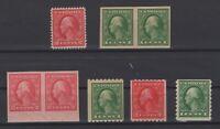 G138239/ UNITED STATES / LOT 1912 MINT MNH CV 114 $