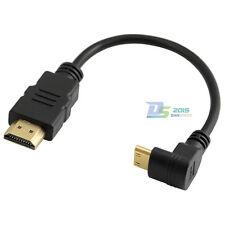 1 Piece HDMI 1.4 A Male to Mini HDMI C Male M/M AV Adapter Cable HD1080P 15cm