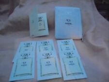 Chanel No 5 L' EAU Chanel EDT Set Täschchen mit 2 ml Spray Probe + 6 Duftkarten