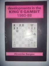 CHESS ECHECS: Developments in the King's Gambit: 1980-88, 1988, BE