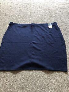 George Navy Blue Skirt Size 24