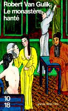 Le monastère hanté=les nouvelles enquêtes du juge Ti**RARE 1986*Robert van Gulik