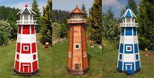 XL-XXL Leuchtturm wahlweise mit Solar oder 230V Netzanschluss, LED Beleuchtung