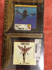 Nirvana Rare CD Collection Lot, 8 CD's & 1 DVD