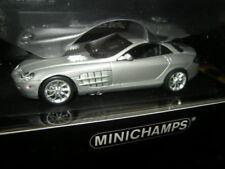 1:43 Minichamps Mercedes-Benz SLR McLaren 2004 Matt Silver Nr. 436033021 OVP