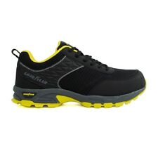 Goodyear Mens Safety Trainer GY1532 Black+Yellow Composite Toe Metal Free Sz 7