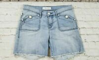 Rock & Republic Stinger Light Wash Jean Shorts Women's Size 8