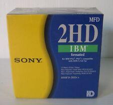 sony 2 hd ibm, 10 pezzi, nuovi.