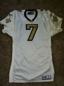 1998 Danny Wuerffel #7 New Orleans Saints Reebok Team Game Issued Jersey NFL 46