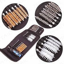 COMPLETE SPIRAL BRUSH SET SMALL-LARGE Thin-Thick Rust Paint Remover Polish Clean