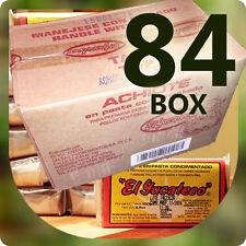 84 Pieces BOX Red Achiote Spiced Seasoning Paste - EL YUCATECO 3.5oz (100g)