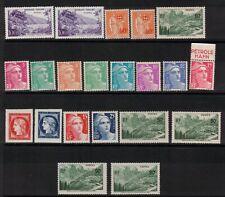 France stamps NICE LOT,MOSTLY MNH,HCV - 887E