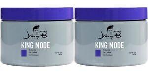 Johnny B Mode King Mode Hair Gel 12oz (Pack of 2) NEW & FRESH!