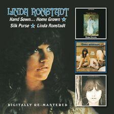 Hand Sown...Home Grown/Silk Purse/Linda Ronstadt by Linda Ronstadt (CD, Jul-2014, 2 Discs, BGO)