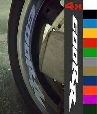 4x Honda CBR 600RR Wheel Rim Sticker Decal Motorcycle Vinyl 1000RR 600 RR