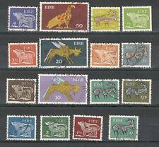 R921 - IRLANDA 1969 - SERIE COMPLETA USATA ORDINARIA N°252/66 - VEDI FOTO