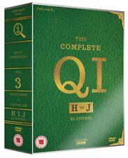 QI: H,I,J 2010-2012: Stephen Fry & Alan Davies H-J Season Series R2 DVD not US