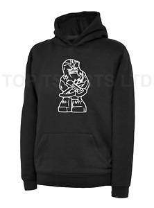 Kids CHEWY CHEWBACCA Black Hoodie FUNNY CUTE Star Wars Gaming Hooded Sweatshirt