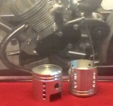 Bicycle 2 stroke gas motor high performance pistons