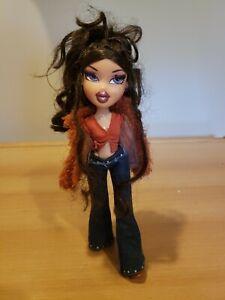 Vintage Bratz 2001 Girls Night Out With Eyelashes Dana Braided Hair Rare