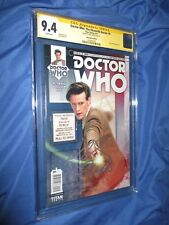 DOCTOR WHO: The Eleventh Doctor #9 CGC 9.4 SS Signed by Matt Smith (Photo Cover)