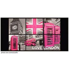 Tapis rectangle 57x115 cm imprimé LONDON GIRL