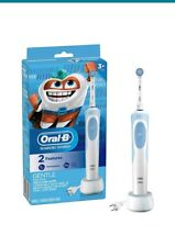 Oral-B Kids Electric Rechargeable Toothbrush With Sensitive Brush Head 3+ New