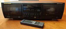 Vintage Rare Marantz Double Cassette Deck Sd535F Dolby Hx Pro W/Remote Serviced