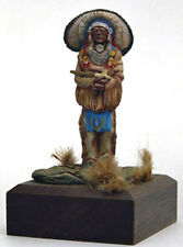 Valiant Miniatures Kit# 9878 - American Indian Woodland Chief - 54mm