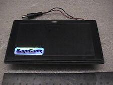 FLAT BATTERY PACK HOLDER 8AA POWER CASE 12V DC 12 VOLT for LCD TEST MONITOR TFT