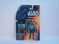 LANDO CALRISSIAN STAR WARS POTF 1995 ACTION FIGURE RED CARD BRAND NEW IN BOX